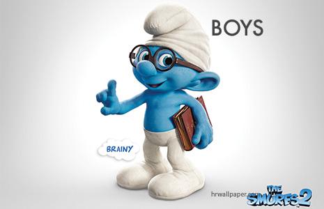 Smurf DIY Halloween Costume Ideas Boys