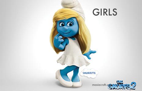 Smurf DIY Halloween Costume Ideas Girls