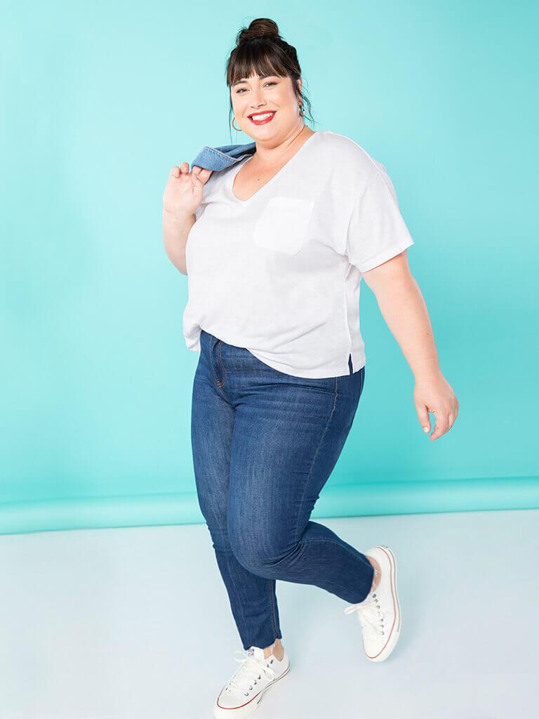 Remade Women Short Sleeve T-Shirt Size XL